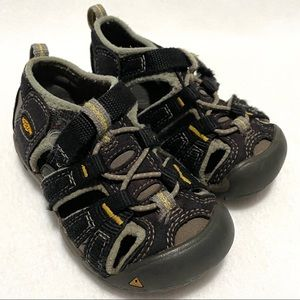Keen Seacamp II CNX Toddler Outdoor Sandals Sz 6
